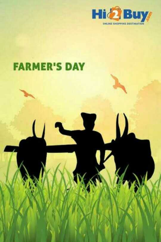 👨‍🌾🌾ਖੇਤੀ ਮਜ਼ਦੂਰਾਂ ਦਾ ਦਿਨ👩‍🌾 - HiBuy ONLINE SHOPPING DESTINATION FARMER ' S DAY - ShareChat