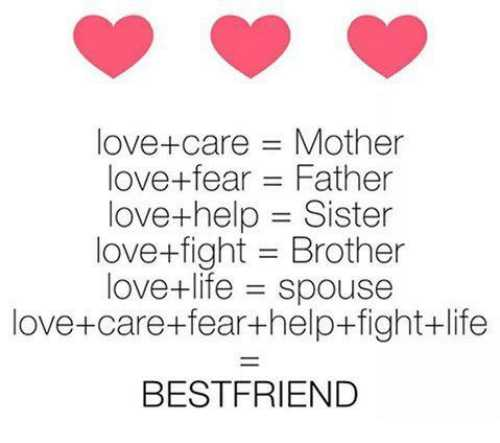 👩ਮੇਰੀ ਪਿਆਰੀ ਭੈਣ - love + care = Mother love + fear = Father love + help = Sister love + fight = Brother love + life = spouse love + care + fear + help + fight + life BESTFRIEND - ShareChat