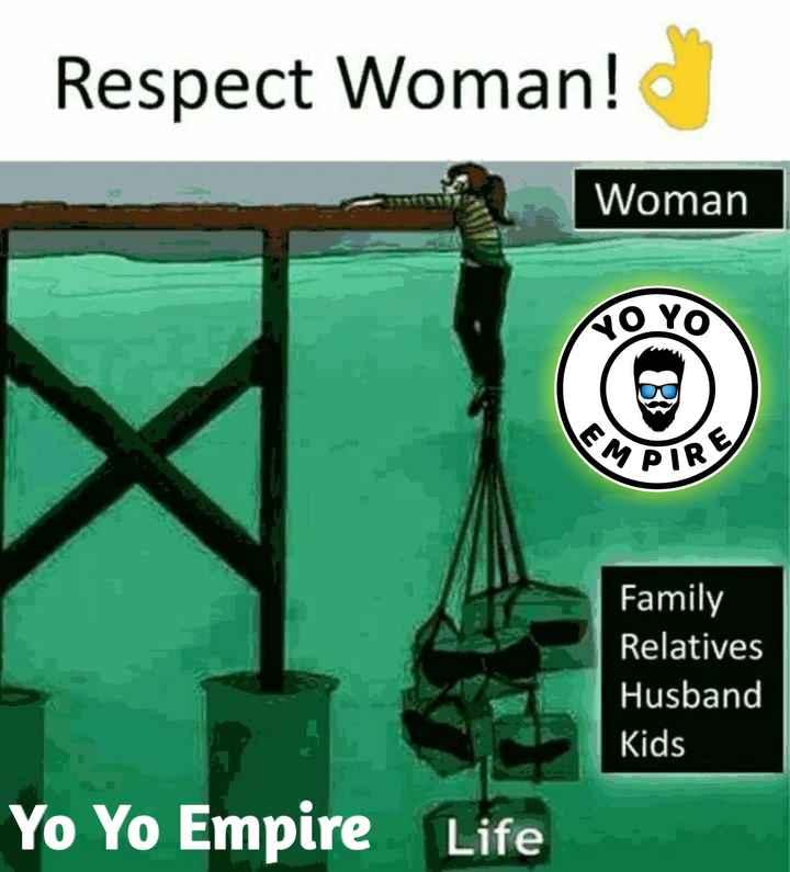 👩🚀 ભારતીય મહિલા હીરો - Respect Woman ! Woman VOYO MPIR Family Relatives Husband Kids Yo Yo Empire Life - ShareChat