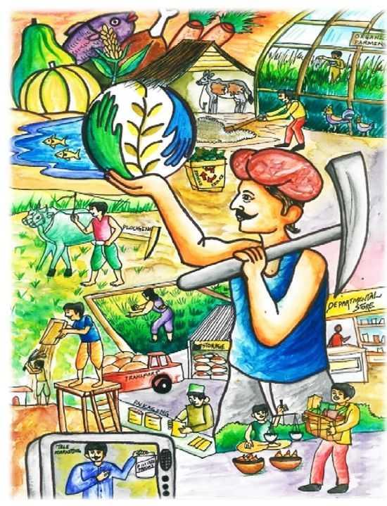 👩🎨 વિશ્વ ચિત્રકલા દિવસ - DE PANTAL Dem 36RE TRANA - ShareChat