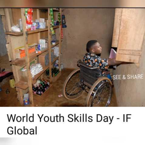 👩🎨ବିଶ୍ଵ ଯୁବ କୌଶଳ ଦିବସ - SEE & SHARE World Youth Skills Day - IF Global - ShareChat