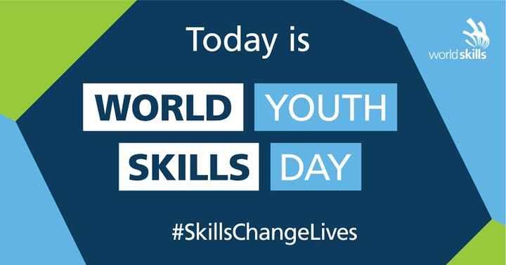 👩🎨ବିଶ୍ଵ ଯୁବ କୌଶଳ ଦିବସ - Today is world skills WORLD YOUTH SKILLS DAY # SkillsChangeLives - ShareChat
