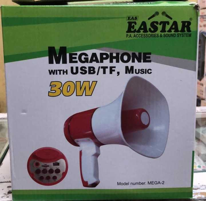 🤼‍♀కబడ్డీ లీగ్-2019 - EASTAR P . A . ACCESSORIES & SOUND SYSTEM EGAPHONE WITH USB / TF , Music 30W Model number . MEGA - 2 - ShareChat