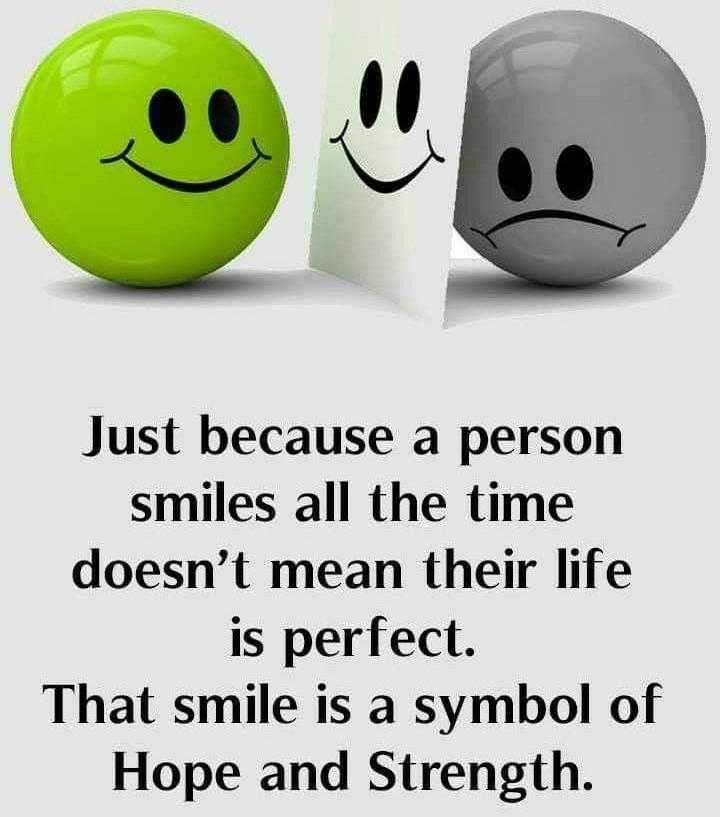 👩🏫కెరీర్ గైడెన్స్ - Just because a person smiles all the time doesn ' t mean their life is perfect . That smile is a symbol of Hope and Strength . - ShareChat