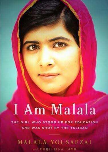 🤼♀మహిళా శక్తి - I Am Malala THE GIRL WHO STOOD UP FOR EDUCATION AND WAS SHOT BY THE TALIBAN MALALA YOUSAFZAI WWE CHRISTINA LAMB - ShareChat