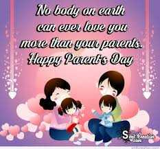 👨👩👧जागतिक पालक दिवस - No body on earth can wer love you more than yow parens . Haupy Paedt ' s Day S elts - ShareChat