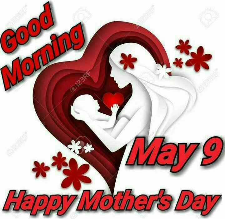 🧚♀️मातृ दिवस - Good Monning 0123RF * * * * May9 Happy Mother ' s Day - ShareChat