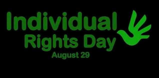 🙋♂️ व्यक्तिगत अधिकार दिवस - Individual Rights Day August 29 - ShareChat