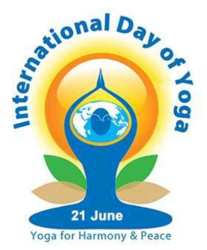 🧘♂️ આંતરરાષ્ટ્રીય યોગ દિવસ - Day of ational interna Of Yoga 21 June Yoga for Harmony & Peace - ShareChat