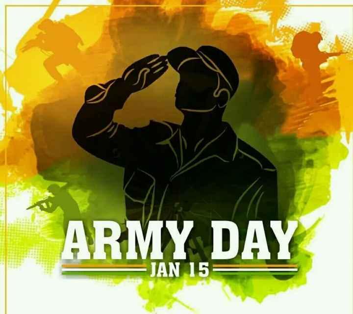 👮♂️ સૈન્ય દિવસ - ARMY DAY JAN 15 - ShareChat