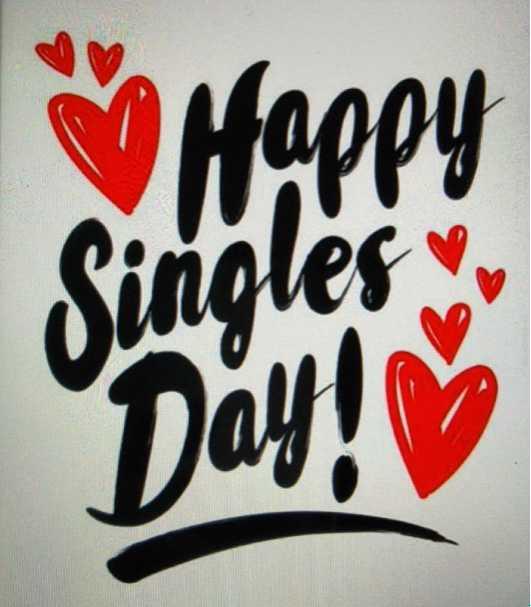 🦸♂️ ಸಿಂಗಲ್ಸ್ ದಿನ - Happy Singles Day ! - ShareChat