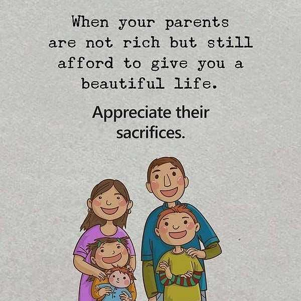 🙋♀️ എൻ്റെ സ്റ്റാറ്റസുകൾ - When your parents are not rich but still afford to give you a beautiful life . Appreciate their sacrifices . - ShareChat