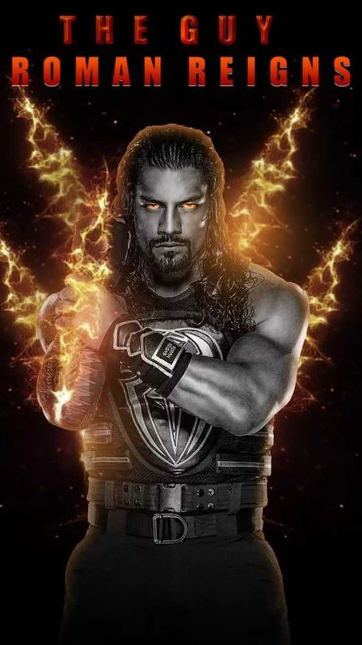 🤼♀️WWE - THE GUY BOMAN REIGNS - ShareChat