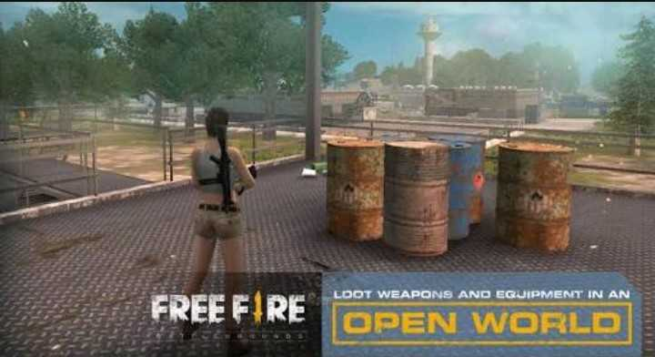 👨‍🏭 PUBG - LOOT WEAPONS AND EQUIPMENT IN AN FREE FIRE OPEN WORLD - ShareChat