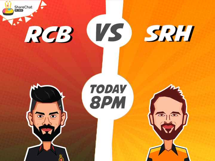 🤼‍♀RCB vs SRH - ShareChat