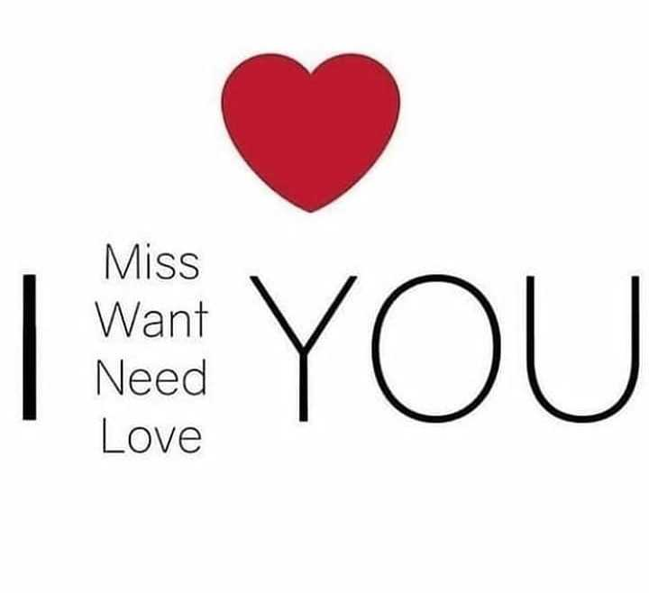 👩‍🎨WhatsApp प्रोफाइल DP - Miss Want Need Love YOU - ShareChat