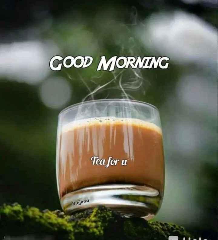 👩🎨WhatsApp प्रोफाइल DP - GOOD MORNING Tea for u Bujjima - ShareChat