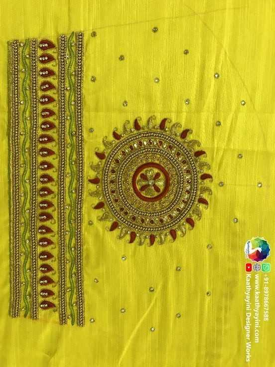✂️ embroidery design - + 91 - 8978667588 er www . kaathyayini . com Kaathyayini Designer Works MANNSSASNANASSSSSSSSSSSSSSSS 086640060606066666666 - ShareChat