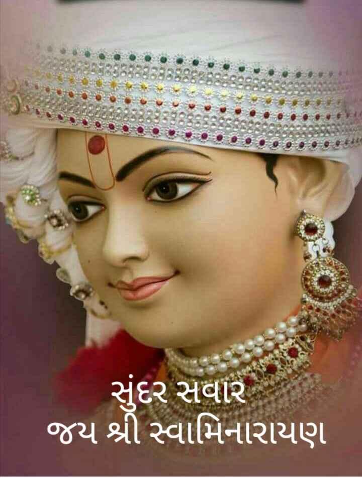✋ જય સ્વામીનારાયણ - સુંદર સવાર જય શ્રી સ્વામિનારાયણ - ShareChat