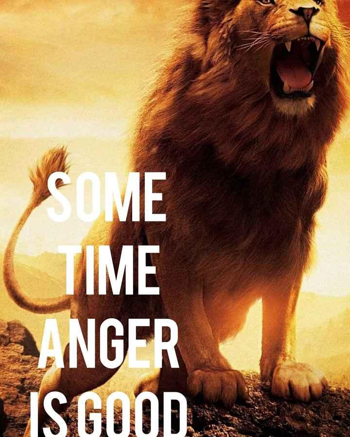 ✌ शेयरचैट सुझाव बॉक्स - COME IME ANGER ISGOOD - ShareChat