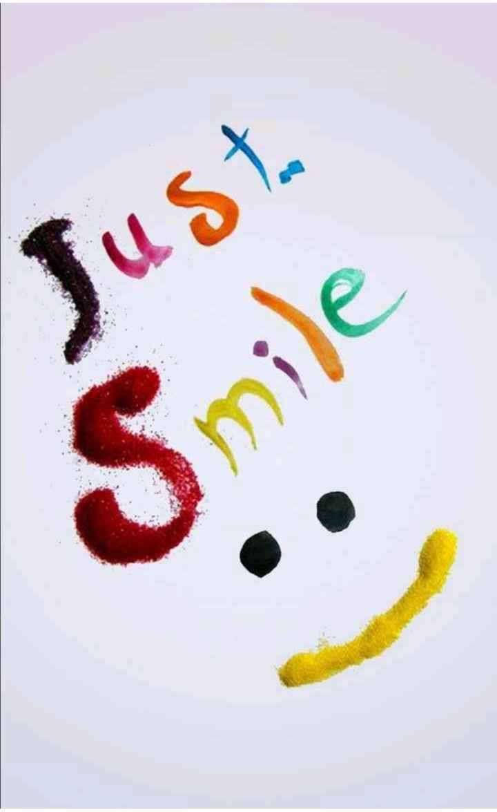 ✌️నేటి నా స్టేటస్ - Just Smile - ShareChat