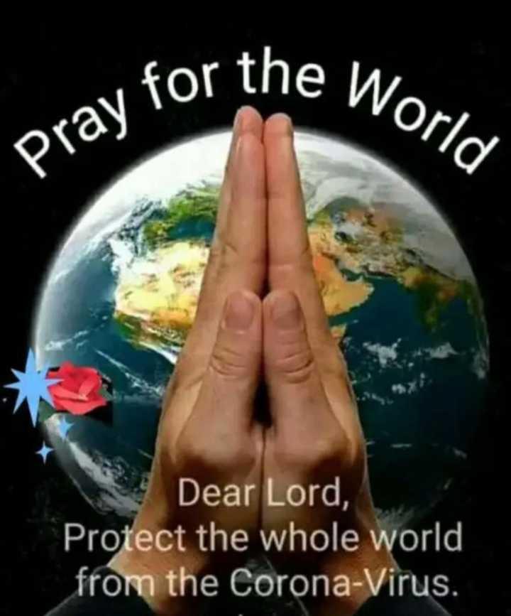 ✍️ જીવન કોટ્સ - ne World Pray for Dear Lord , Protect the whole world from the Corona - Virus . - ShareChat