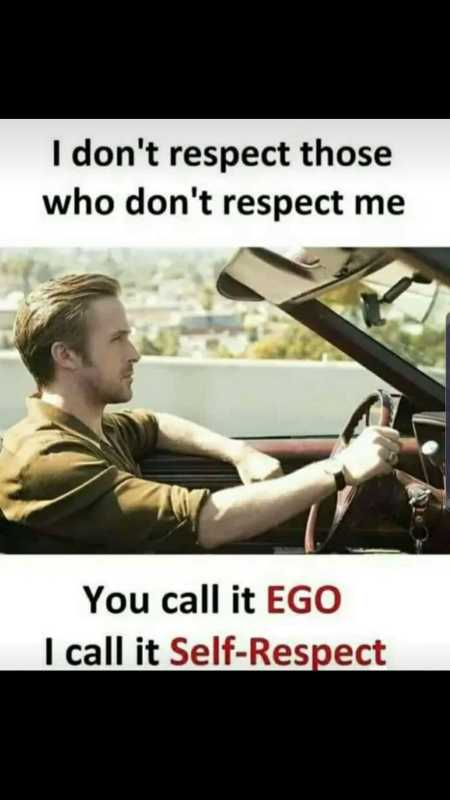 ✍️  Motivatinal Quotes - I don ' t respect those who don ' t respect me You call it EGO I call it Self - Respect - ShareChat