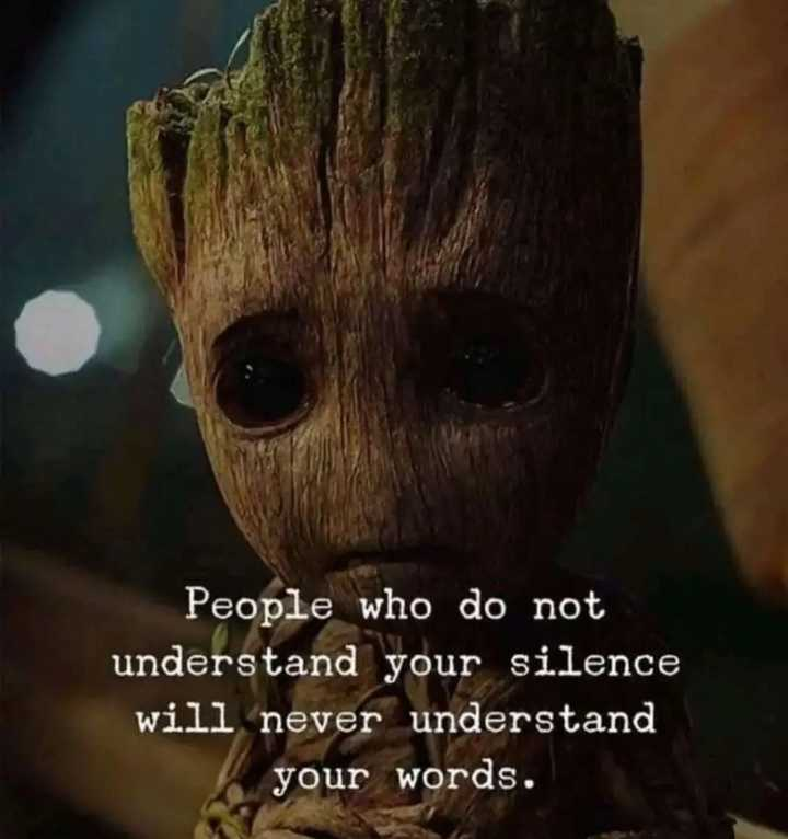 ✍life changing quotes - People who do not understand your silence will never understand your words . - ShareChat