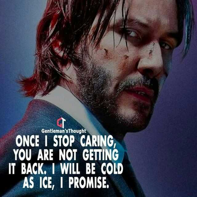 ✍ quotes - Gentleman ' sThought ONCE I STOP CARING YOU ARE NOT GETTING IT BACK . I WILL BE COLD AS ICE , I PROMISE . - ShareChat