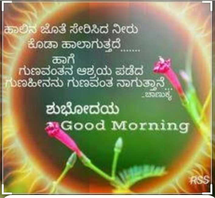✏️ ಶೇರ್ ಚಾಟ್ ಲೋಗೋ - ಹಾಲಿನ ಜೊತೆ ಸೇರಿಸಿದ ನೀರು ಕೊಡಾ ಹಾಲಾಗುತ್ತದೆ . . . . . ಹಾಗೆ . ಗುಣವಂತನ ಆಶ್ರಯ ಪಡೆದ ಗುಣಹೀನನು ಗುಣವಂತ ನಾಗುತ್ತಾನೆ . - ಚಾಣುಕ್ಯ ಶುಭೋದಯ Good Morning RSS - ShareChat