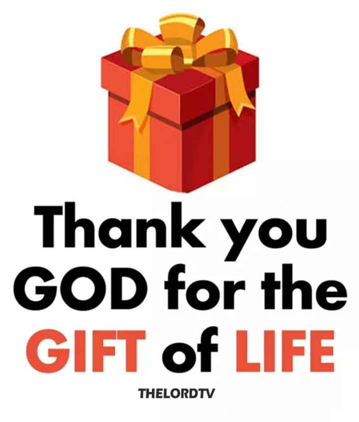 ✝️ ਯਿਸੂ ਮਸੀਹ - Thank you GOD for the GIFT of LIFE THELORDTV - ShareChat