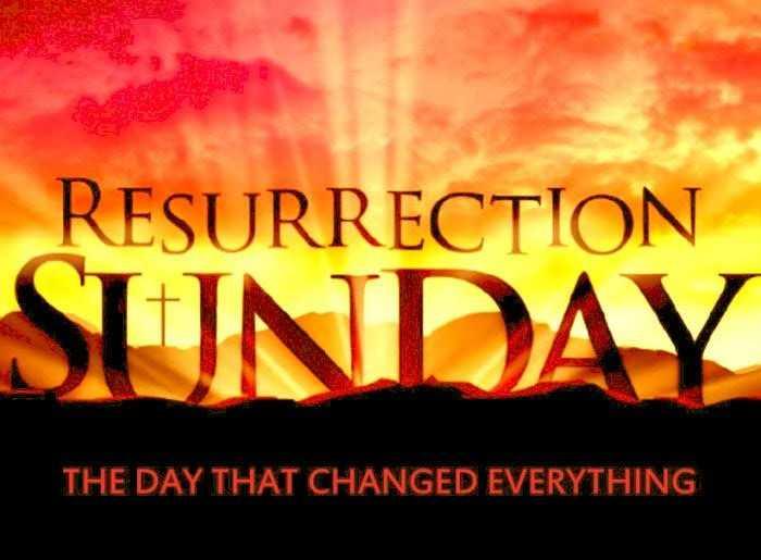 ✝️ஈஸ்டர் திருநாள் நல்வாழ்த்துக்கள் - RESURRECTION SUNDAY THE DAY THAT CHANGED EVERYTHING - ShareChat