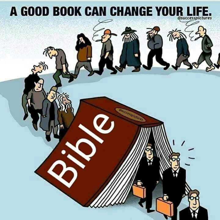 ✝️ Jesus - A GOOD BOOK CAN CHANGE YOUR LIFE . @ successpictures 263 Uccesspictures Bible - ShareChat