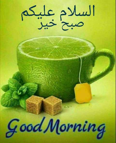 ✨ DEENIYAAT ✨ - السلام علیکم صبح خیر Good Morning - ShareChat