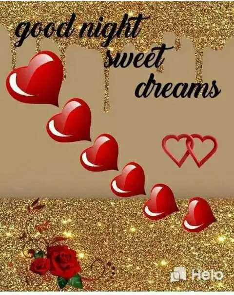 ✨good night✨ - good night sweet dreams telo - ShareChat