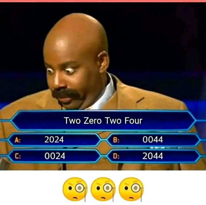 ❓ पहेलियाँ ❓ - Two Zero Two Four 2024 0044 0024 D : 2044 . O 2000 . O Dog - ShareChat