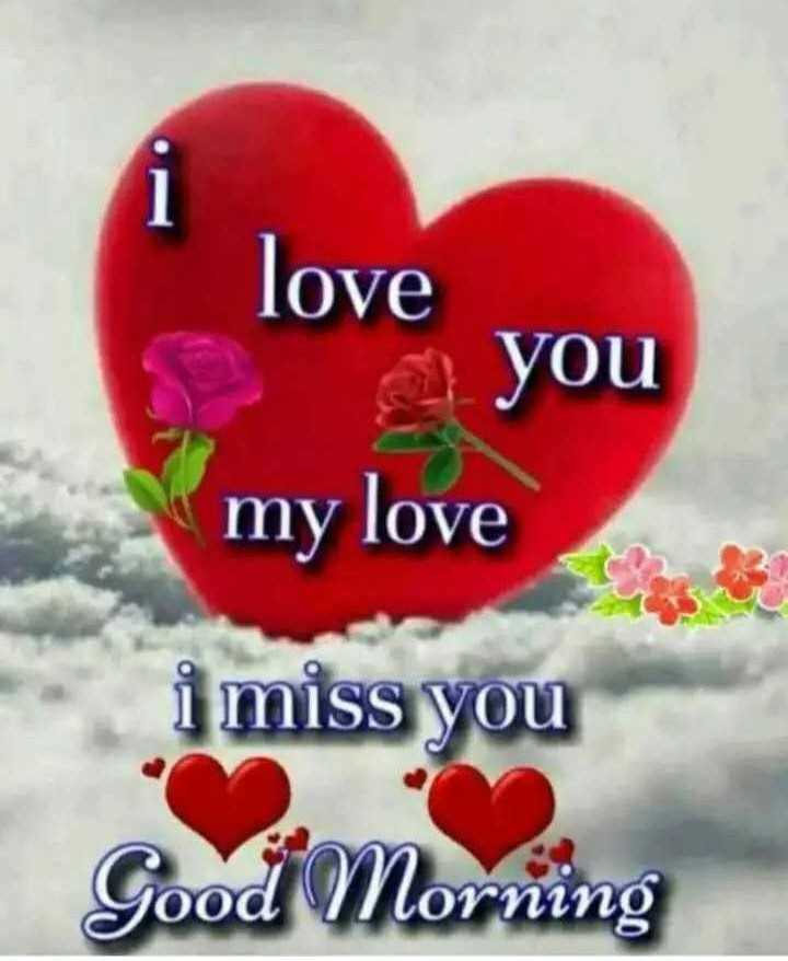 ❤️ आई लव यू - i love you my love i miss you Good Morning - ShareChat