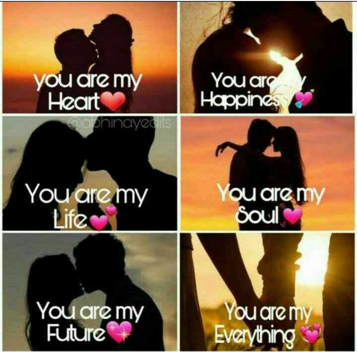 ❤️ లవ్ - you are my You are Happines Heart micphinayed is You are my Life You are my soul You are my Future You are my Everything - ShareChat