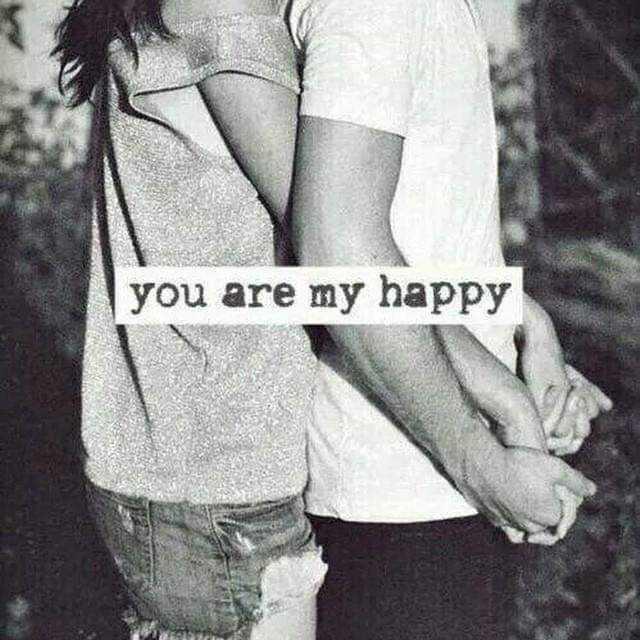 ❤️ പ്രണയം സ്റ്റാറ്റസുകൾ - you are my happy - ShareChat