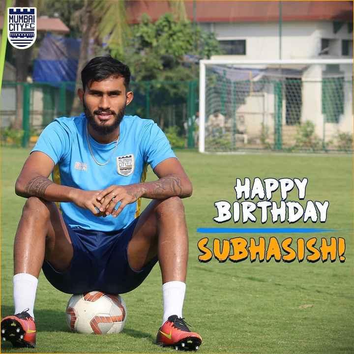 ⚽️इंडियन सुपर लीग Live - MUMBAI CITY FC MUMBHI HAPPY BIRTHDAY SUBHASISHI - ShareChat