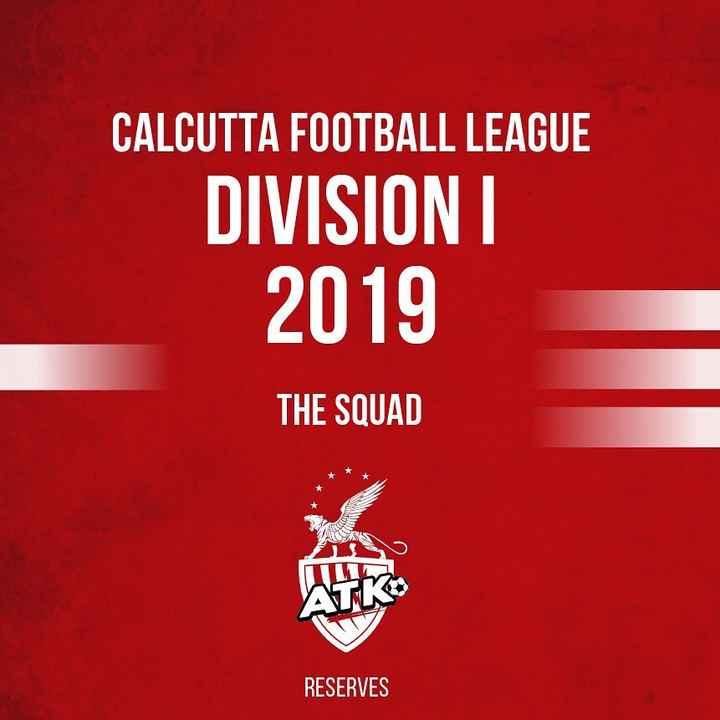⚽️इंडियन सुपर लीग Live - CALCUTTA FOOTBALL LEAGUE DIVISIONI 2019 THE SQUAD RESERVES - ShareChat