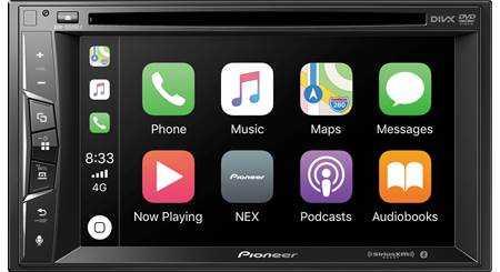 ⚙️ इलेक्ट्रॉनिक्स सामान - DIVX ove Phone Music Maps Messages 8 : 33 தன Now Playing NEX Podcasts Audiobooks Pioneer OS - ShareChat