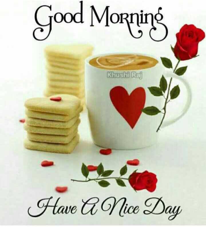 ☀️गुड मॉर्निंग☀️ - Good Morning Khushi Raj Have A Nice Day - ShareChat