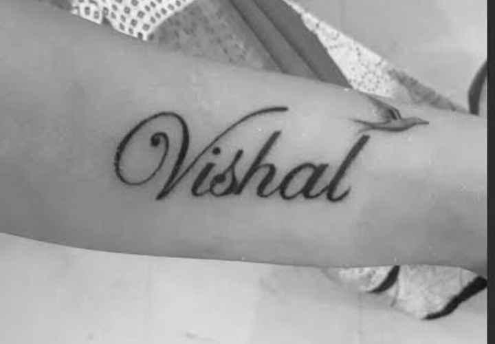 🖍️टॅटू - Vishal - ShareChat