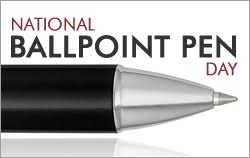 🖊️ राष्ट्रीय बॉलपॉइंट पेन डे - NATIONAL BALLPOINT PEN DAY - ShareChat