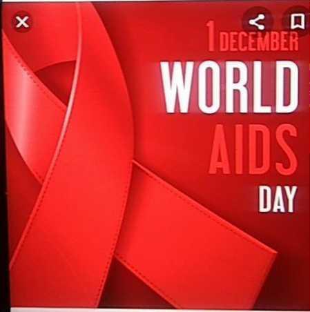 🎗️विश्व एड्स दिवस -   DECEMBER WORLD DAY - ShareChat