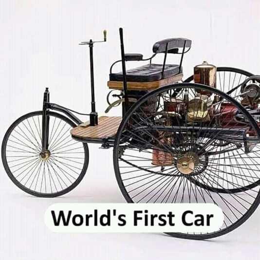 ℹ️ তথ্য - World ' s First Car - ShareChat