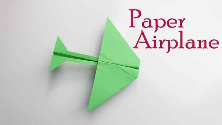 🛩️ પેપર પ્લેન દિવસ - Paper Airplane - ShareChat