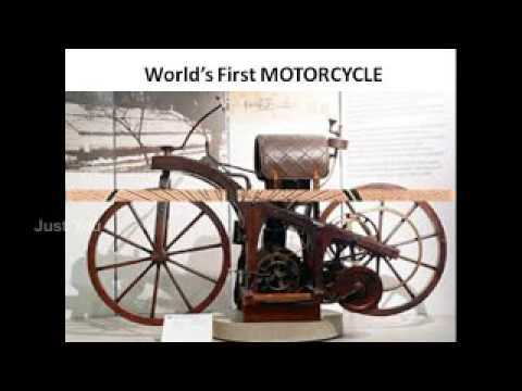 🏍️ બાઈક દિવસ - World ' s First MOTORCYCLE Jus - ShareChat