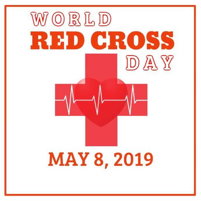 🎗️ વિશ્વ રેડ ક્રોસ દિવસ - WORLD RED CROSS DAY MAY 8 , 2019 - ShareChat